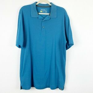 Eddie Bauer Travex Men's Polo Shirt Athletic LT